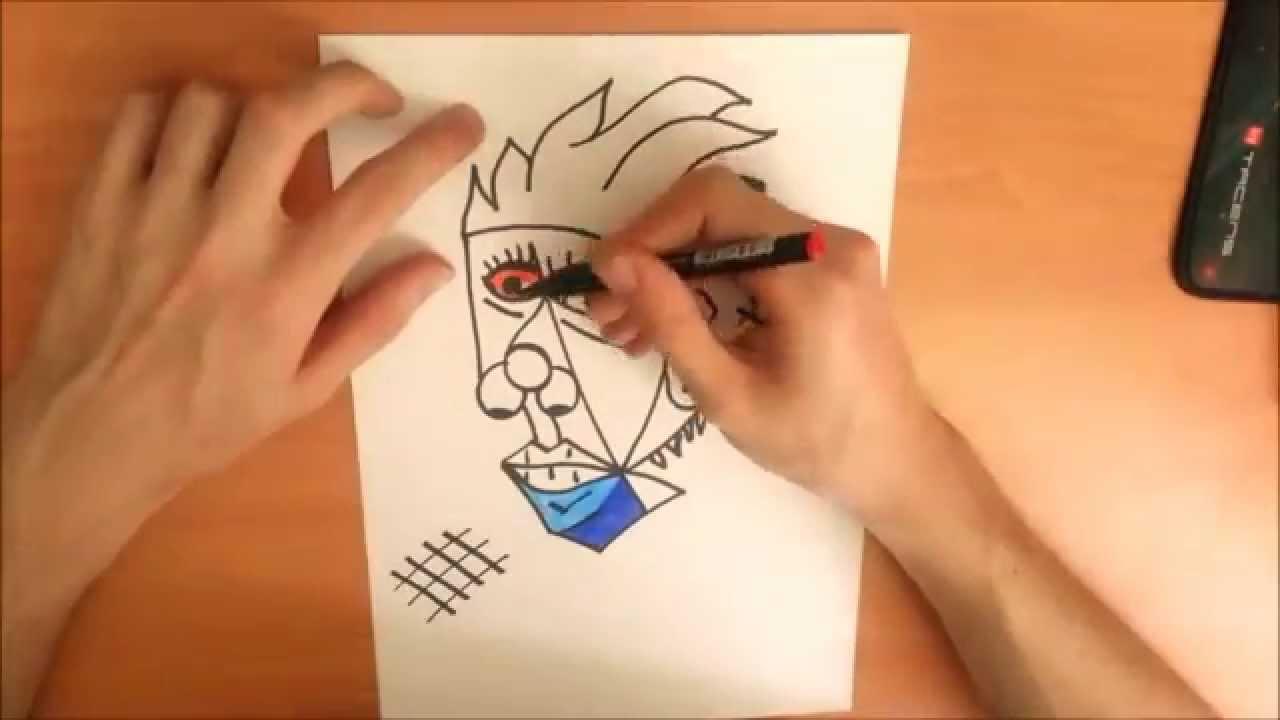 Imagenes De Cubismo Faciles Para Dibujar Www Imagenesmy Com