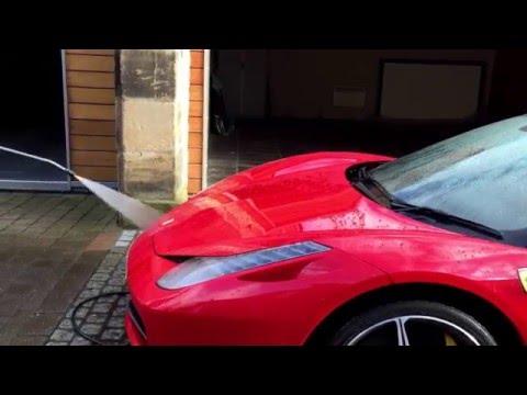 Ferrari 458: paintwork protection