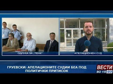 Апелација ја потврди пресудата за Никола Груевски