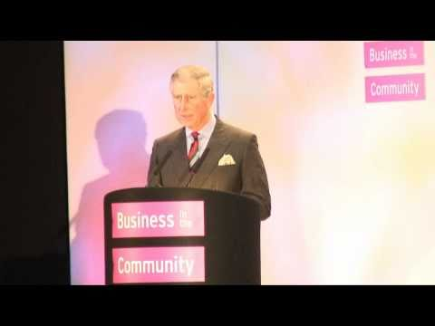 The Prince of Wales and the Prime Minister make a speech at the BITC annual general meeting