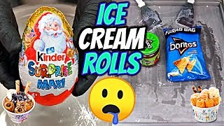ICE CREAM ROLLS Best Compilation EVER! 🍦 | The Most Satisfying Video In The World