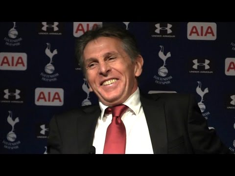 Tottenham 2-1 Southampton - Claude Puel Full Post Match Press Conference