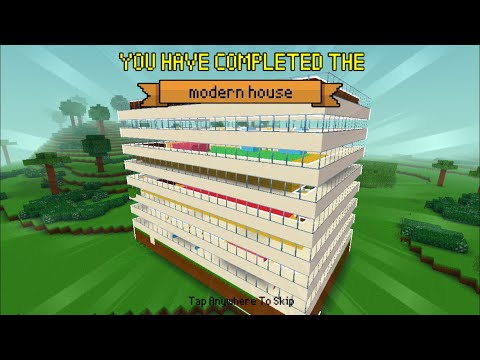 Block Craft 3D : Building Simulator Games For Free Gameplay #487 (iOS & Android)   Modern House