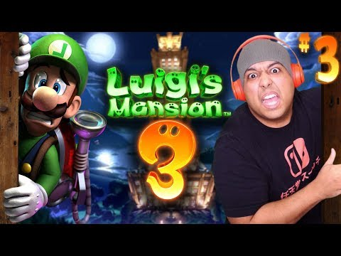 I DON'T KNOW WHO MORE SCARED ME OR LUIGG! [LUIGI'S MANSION 3] [#03]