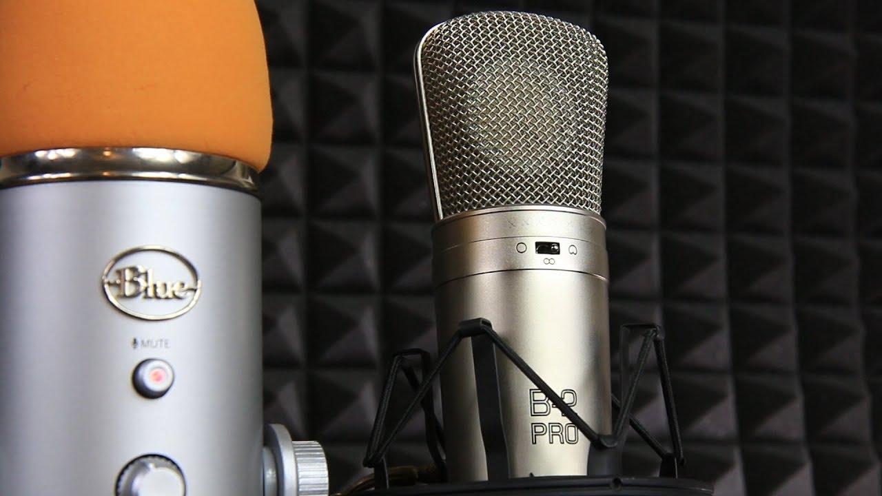 Behringer B2 Pro Xlr Mic Vs Blue Yeti Usb Microphone Test