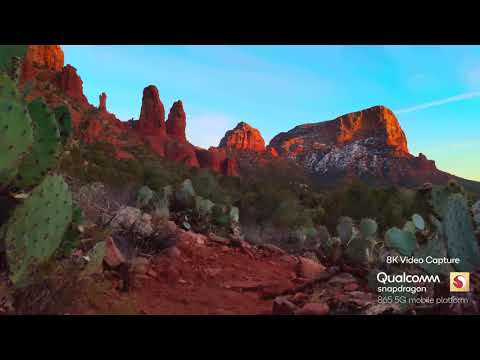 Qualcomm shows off the first 8K footage captured with its Snapdragon 865 chipset