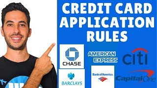 Credit Card Application Rules For Each Bank With High Sign Up Bonuses