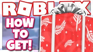 [GIFT] How to get the FESTIVE GIFT OF THE WINTER WISDOM | Roblox