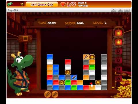 Gameduell on Facebook - Dragon Click Walkthrough ...