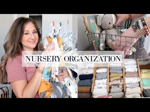 NURSERY ORGANIZATION   PREPARING FOR BABY