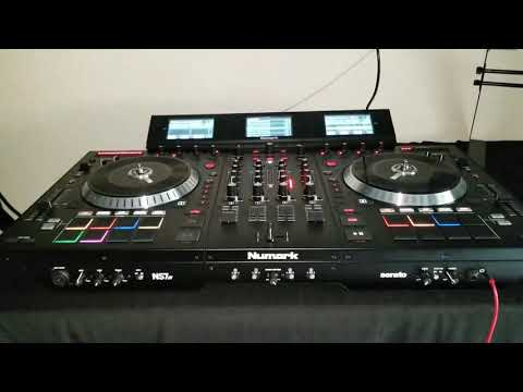 Numark NS7iii Serato DJ Testing for the first time!!!