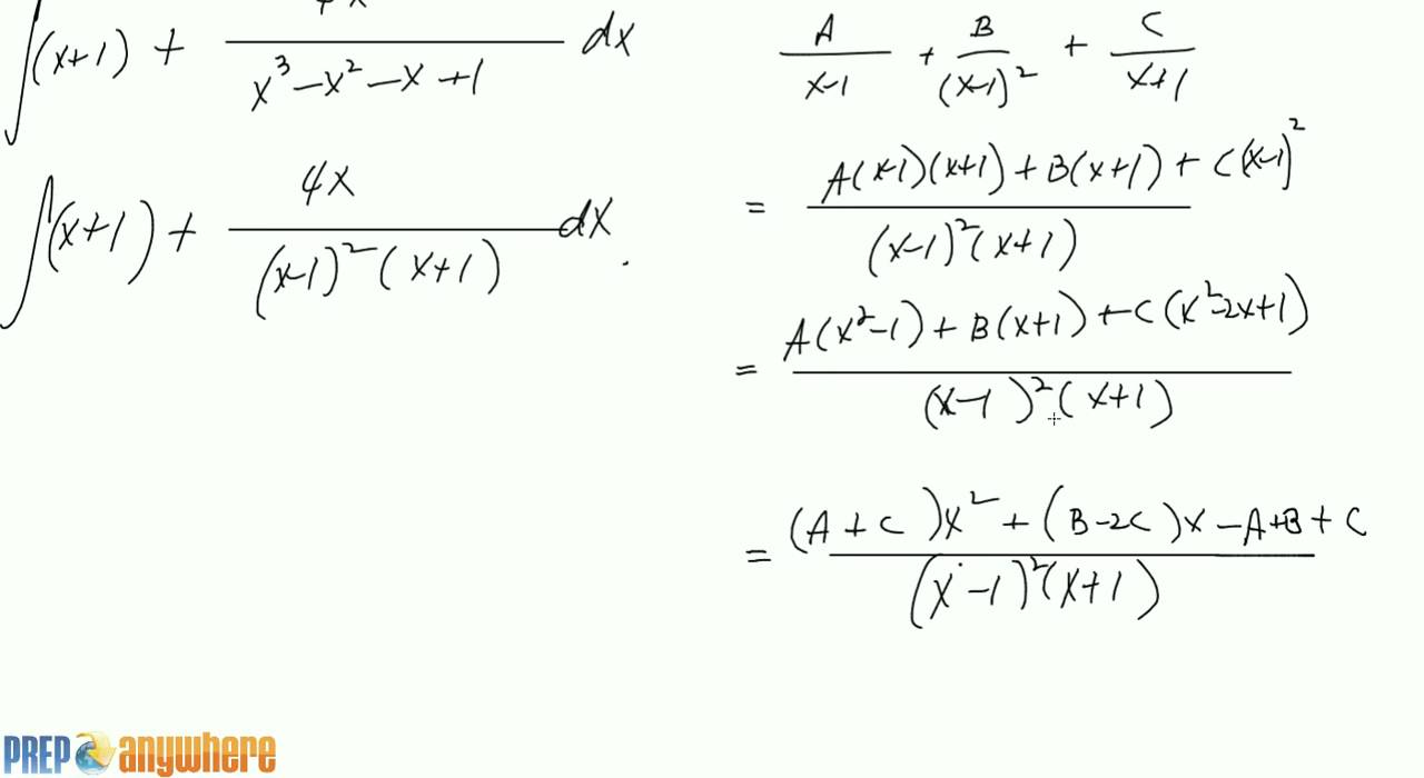 How do you express #x^2/(x^2 + x +2)# in partial fractions?