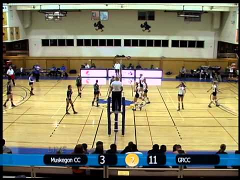 MCC Volleyball vs. Grand Rapids Community College 9-21-12