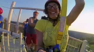 Epic Zipline - Flying Over Palo Duro Canyon