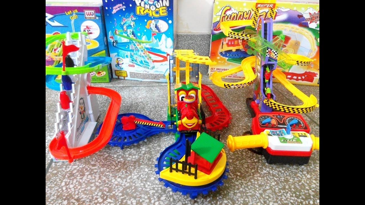 Dinosaur Car Race Track