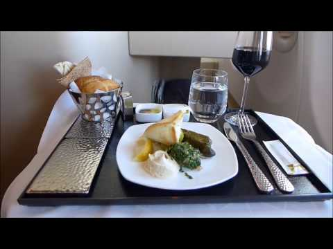 Top 5 Amazing Airline meals - Business Class