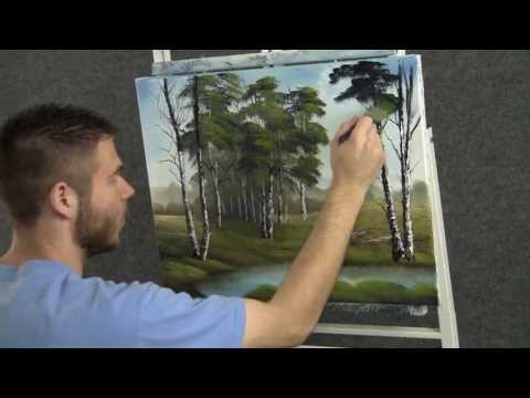 Paint with Kevin Hill - Quiet Birch Trees