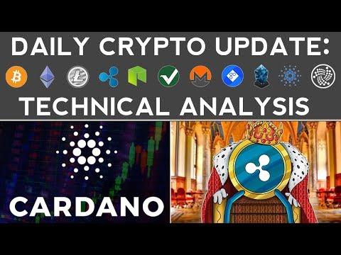 RIPPLE & CARDANO SOAR!!! (12/14/17) Daily Update + Technical Analysis