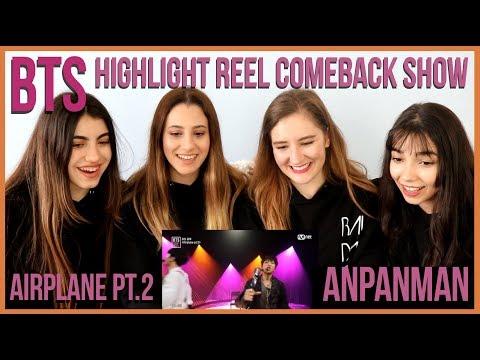 BTS - AIRPLANE PT.2 & ANPANMAN │BTS COMEBACK SHOW REACTION (2 KPOP FANS & 2 FANS-TO-BE)