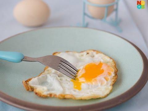 Crispy Fried Egg Recipe