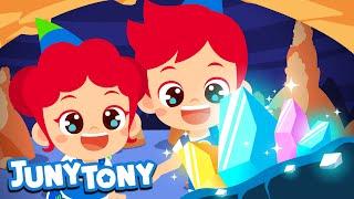 Cave Adventure | Adventure Songs for Kids | Preschool Songs | JunyTony