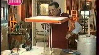 Декоративные страсти с Маратом Ка 2007-2008 Журнальный столик для библиотеки