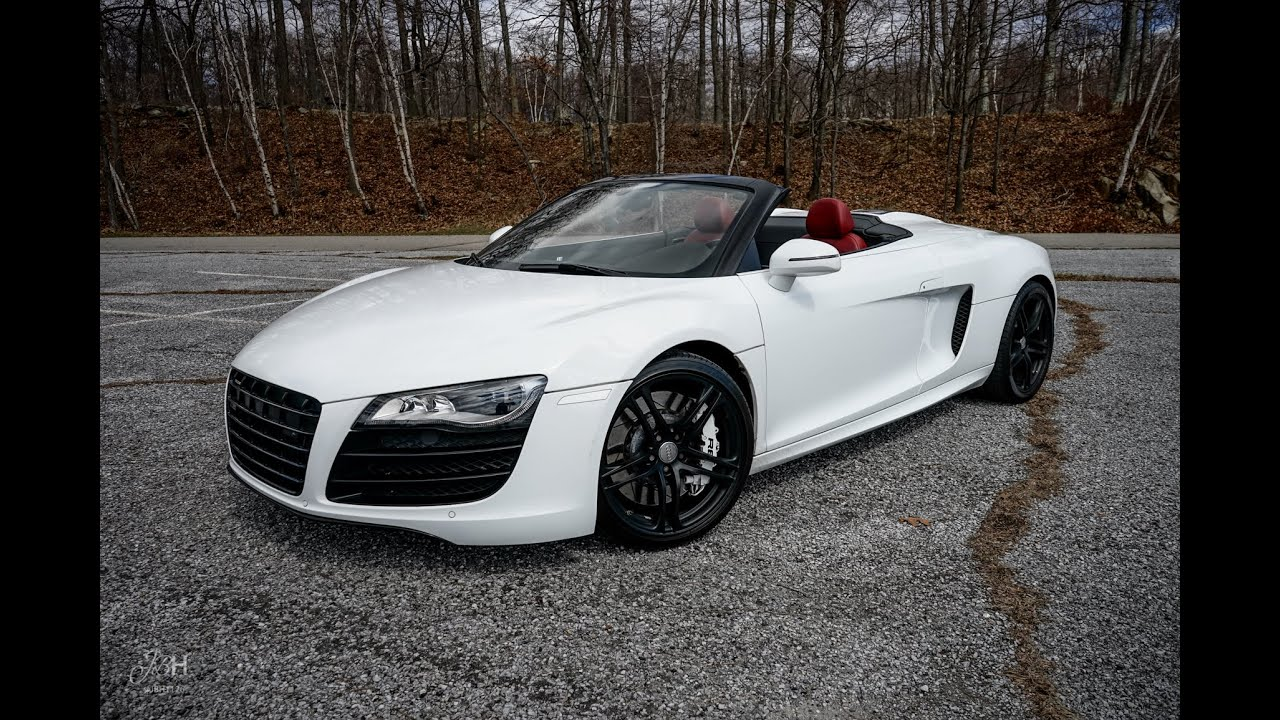 Twin Turbo Audi R V Spyder YouTube - Audi r8 v10 spyder