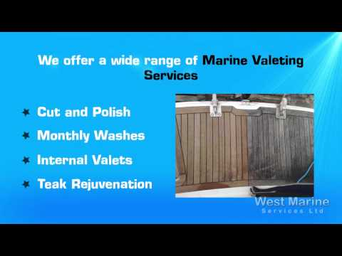 Marine Valeting -- West Marine Boat Cleaning Services
