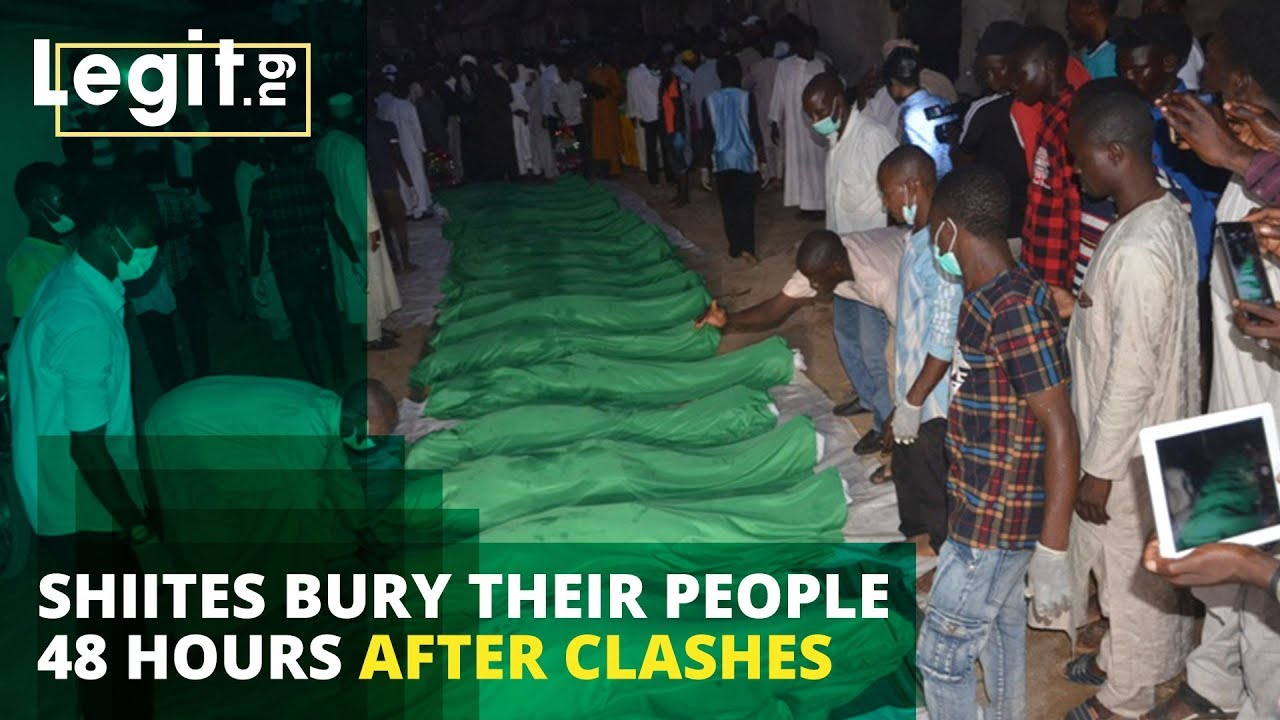 Nigeria Latest News: Shiites Prepare to Bury Their Members 48 Hours After Clash With Security Forces