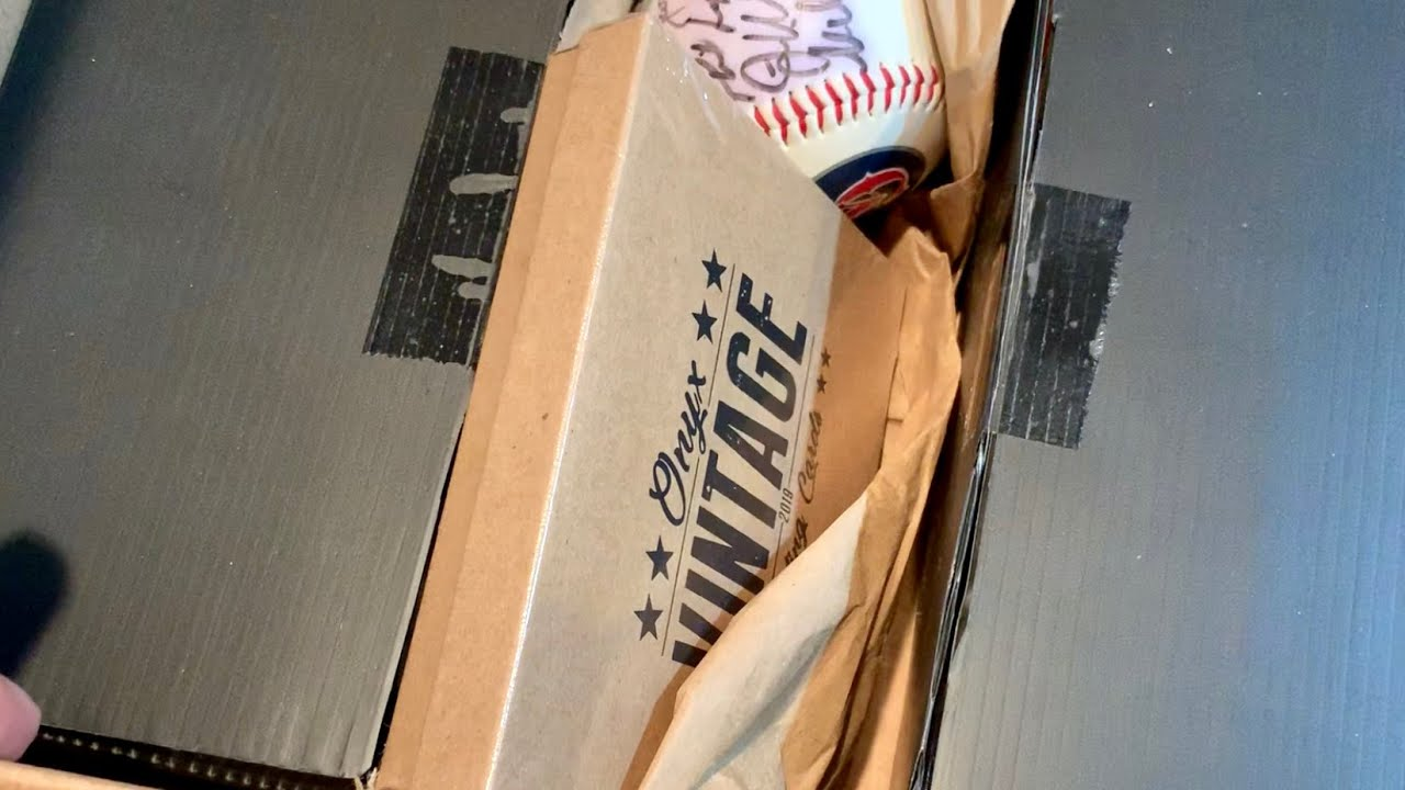 High End 125 Subscription Baseball Card Box Opening All About The Hobby
