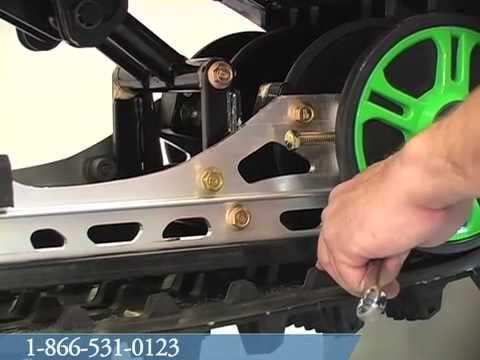 Adjusting Track Alignment on 2010 F6 Sno Pro