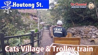 [Inokuma TOURIST] Cat Village & Trolly train - Houtong Sta.(のんびり癒やされる猫村とトロッコ列車-平渓線猴硐站)
