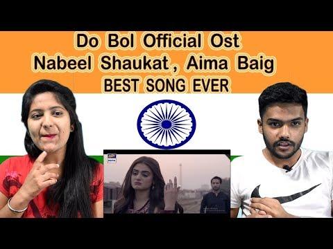 Indian Reaction On Do Bol OST | Ja Tujhy Muaaf Kiya | Swaggy D