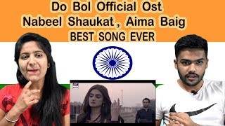 Indian Reaction on Do Bol OST  Ja Tujhy Muaaf Kiya  Swaggy d