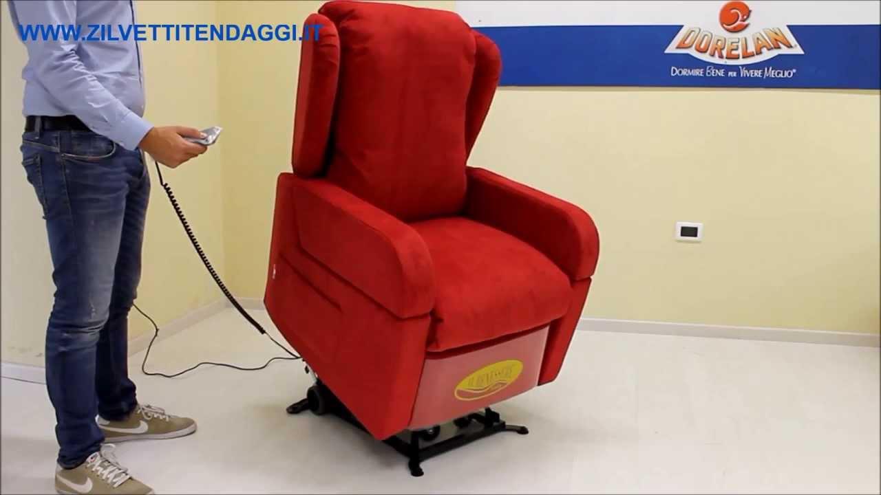 Poltrona elettrica con ruote per anziani e disabili mod. Debora tel ...