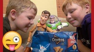 Toy Story 4 | Magic Door Doritos | Woody Buzz Lightyear | Disney Pixar Kids Wild Ride