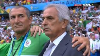 Hymne Algérie v. Coree du Sud / HD