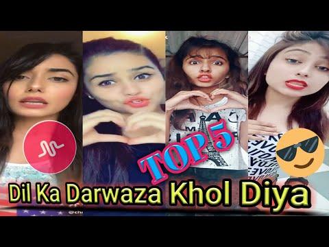 #tiktok #Top5 #HDmusically   Dil Ka Darwaza Khol Diya   Musically   TikTok