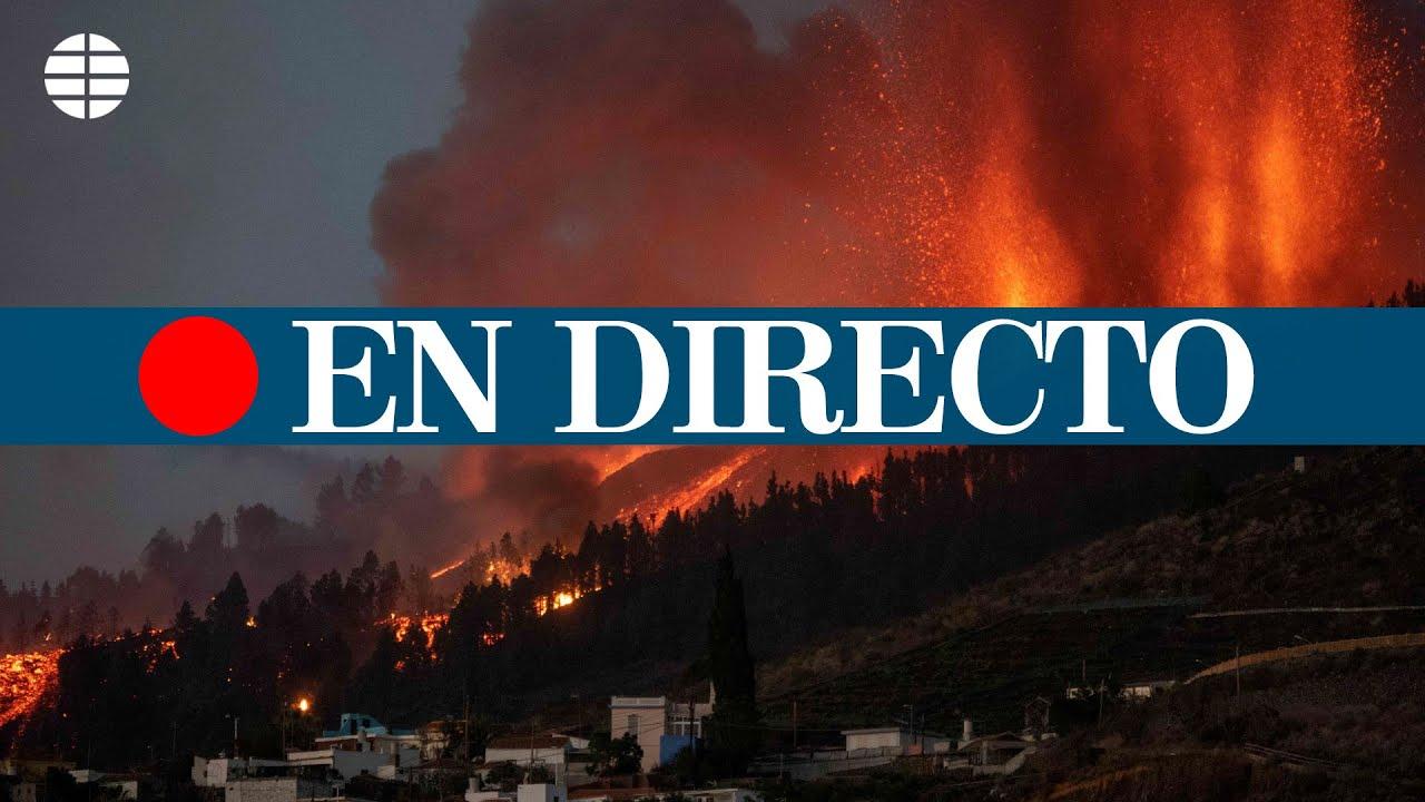 Download DIRECTO | El volcán Cumbre Vieja entra en erupción en La Palma