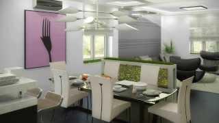 Дизайн проект коттеджа площадью 298м 2 в Подмосковье(Дизайн проект коттеджа площадью 298м 2 в Подмосковье. Весь проект разработан в стиле Хай-Тек. применено масса..., 2014-02-19T18:36:05.000Z)