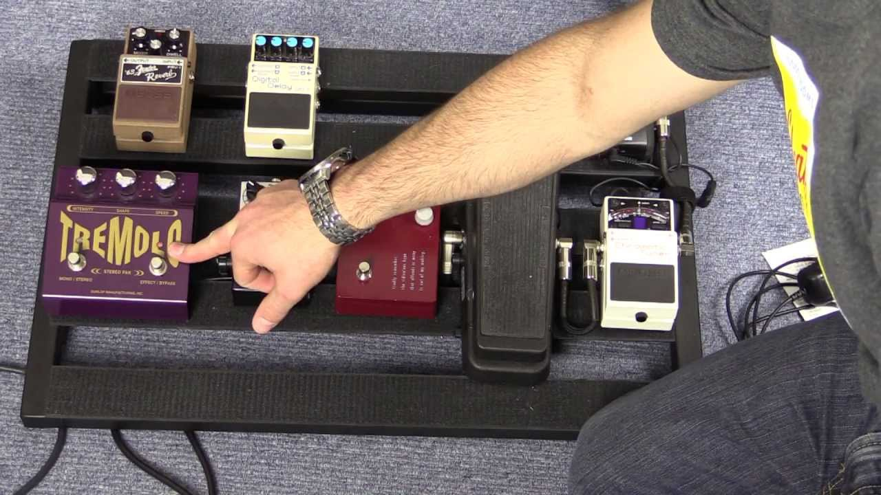 Guitar Effects Pedal Order On A Pedalboard Youtube Wah Wiring Diagram