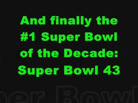 The Top 10 Super Bowl