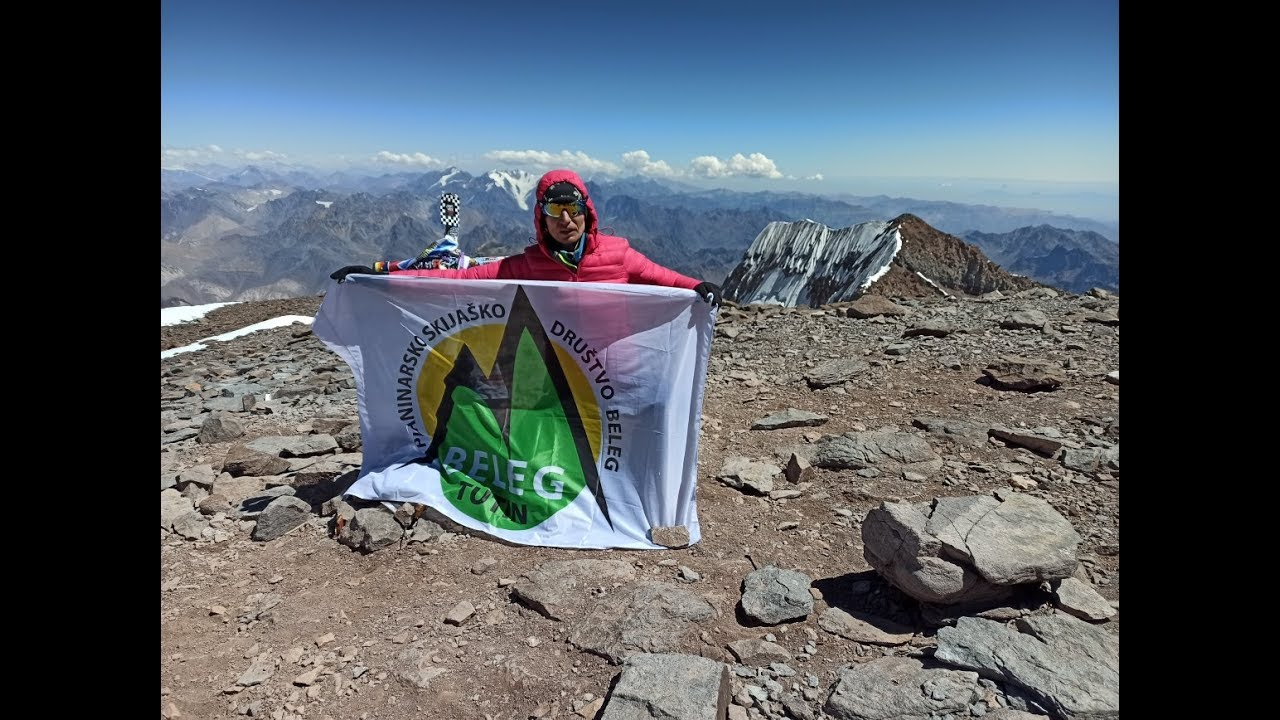 Резултат слика за Admira Koničanin Caka prva je žena iz Sandžaka koja je osvojila Akonkagvu, najviši vrh Južne Amerike