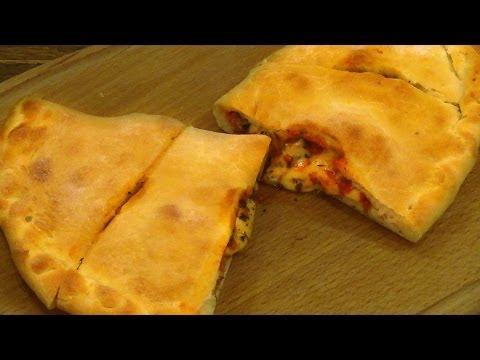 Пицца кальцоне рецепт в домашних условиях в духовке пошаговый рецепт с фото