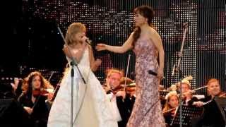 Jackie Evancho & Sumi Jo - Con Te Partiró - St Petersburgo
