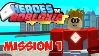 Roblox- Héroes de Robloxia- Misión 1 Juego