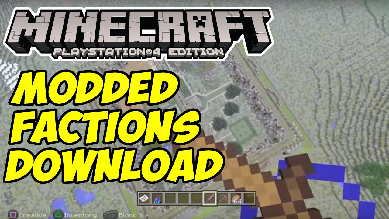 minecraft factions server map download