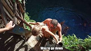 SAMOA ENTERTAINMENT - SWIMMING HOLE -TO SUA TRENCH...When holidaying in Samoa take time to visit .