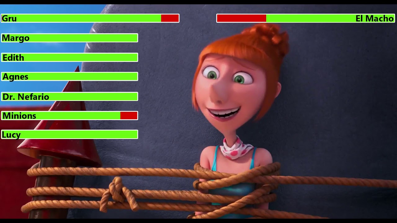 Download Despicable Me 2 (2013) Final Battle with healthbars