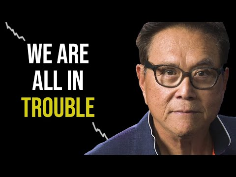 Robert Kiyosaki: The Biggest Stock Market Crash Is On Us NOW!